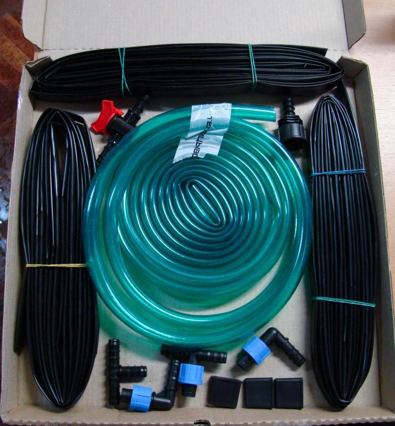 Оборудование для капельного полива в теплице